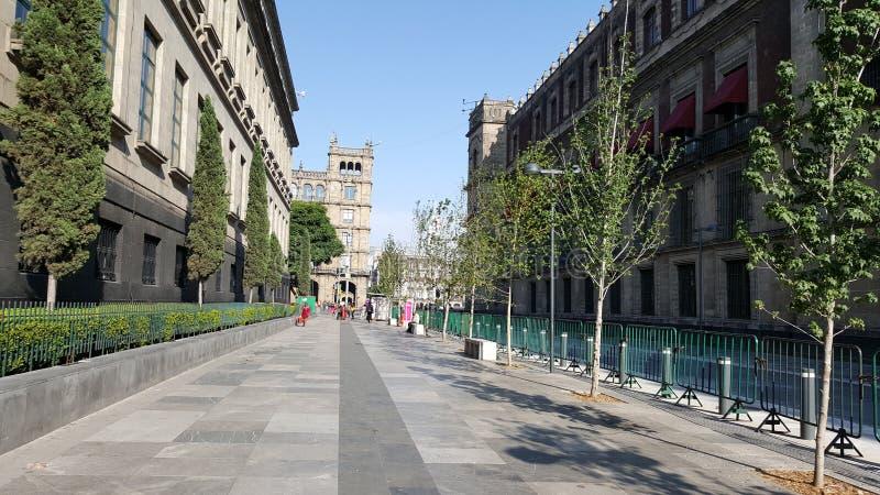 Corregidora-Straße lizenzfreie stockbilder