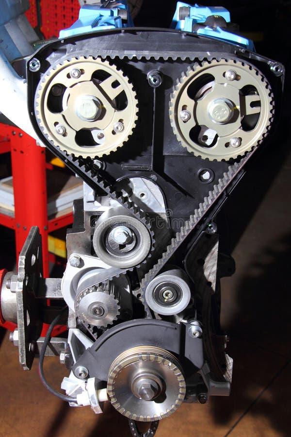 Correia da distribuição de um motor endothermic imagens de stock royalty free