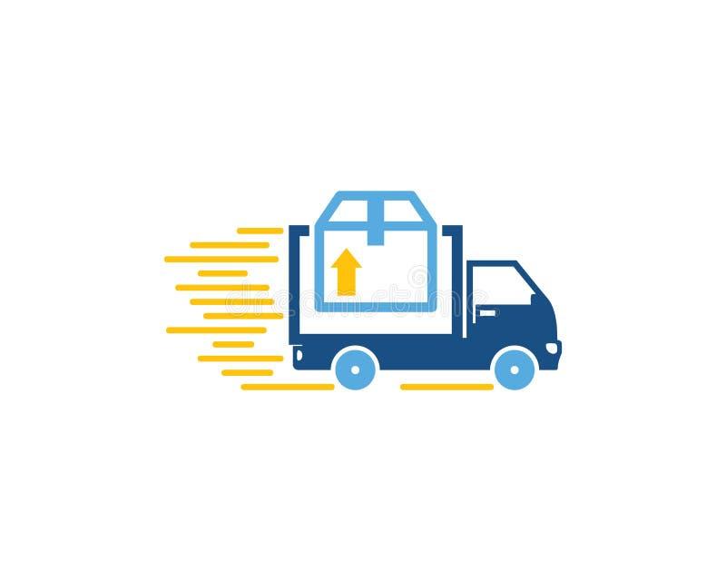 Correio Logistic Logo Icon Design ilustração do vetor