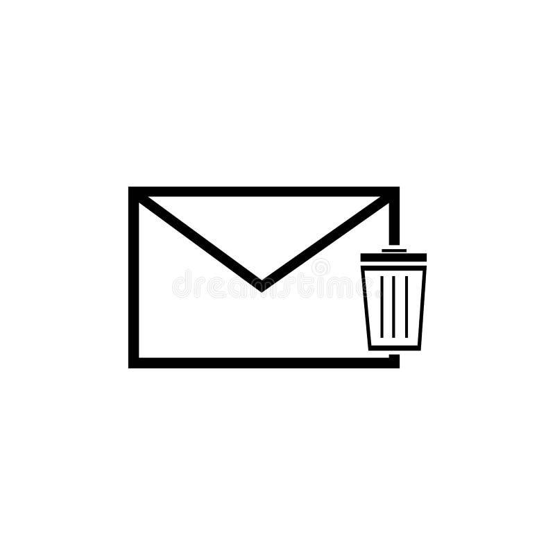 correio ilustração stock