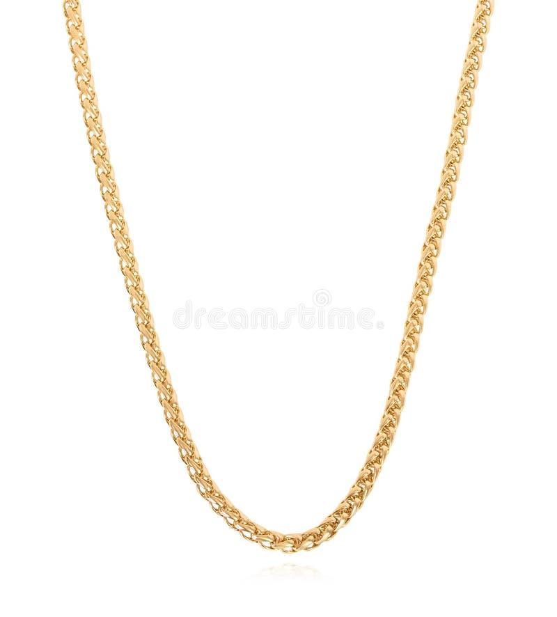 Corrente bonita do ouro para cada ocasião imagens de stock royalty free
