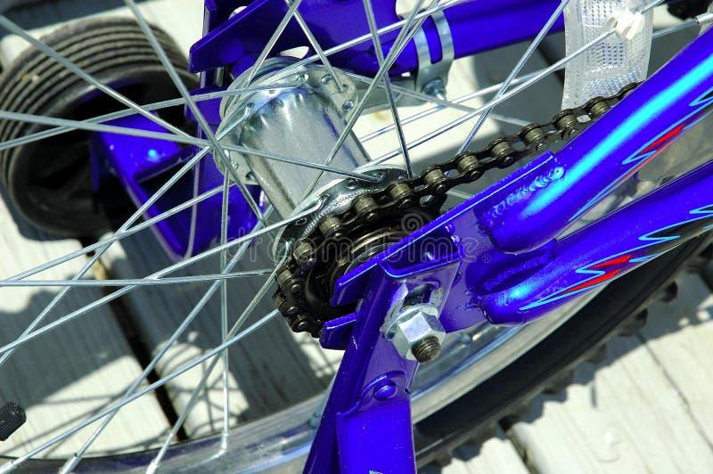Corrente da bicicleta imagens de stock royalty free