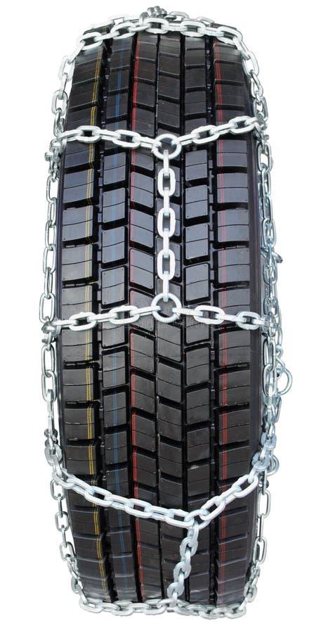 Corrente de pneu imagem de stock royalty free