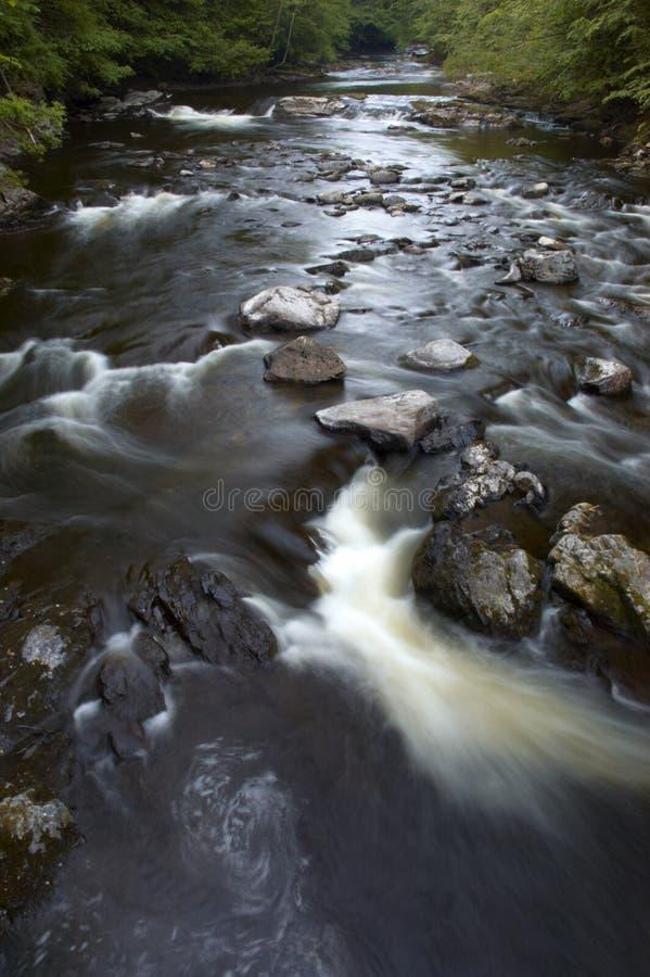 Corrente dell'acqua fotografie stock