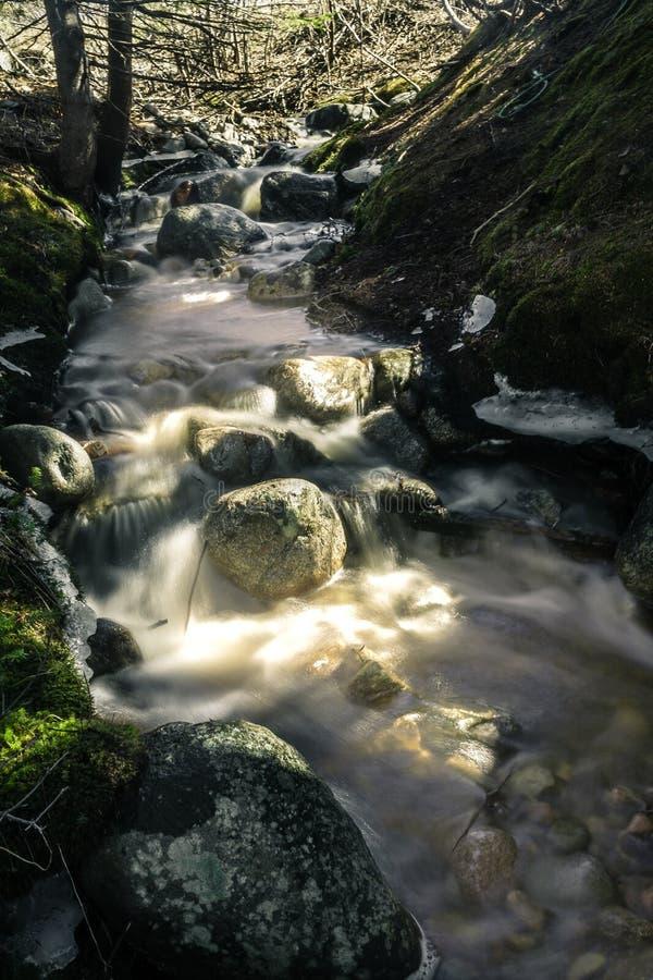 Corrente dell'acqua! fotografie stock