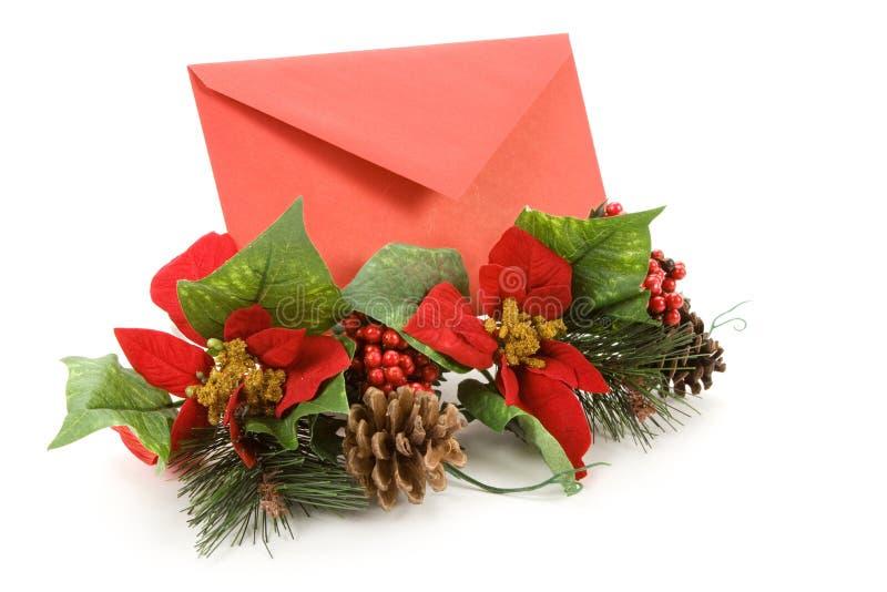 Correo de la Navidad foto de archivo libre de regalías