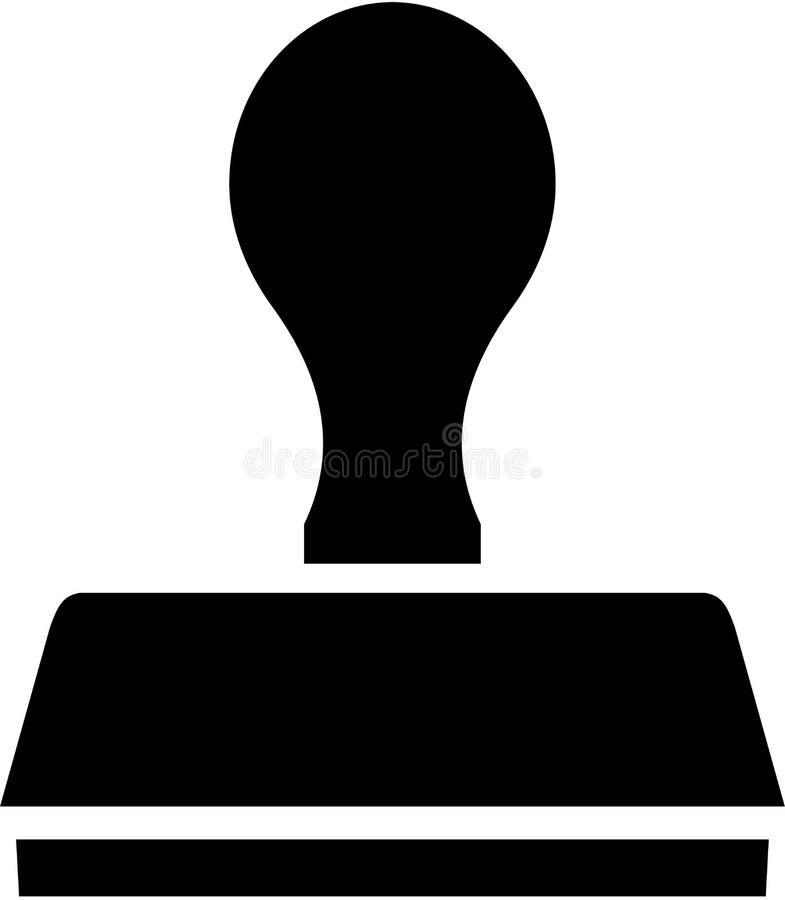 Correo del icono del sello libre illustration