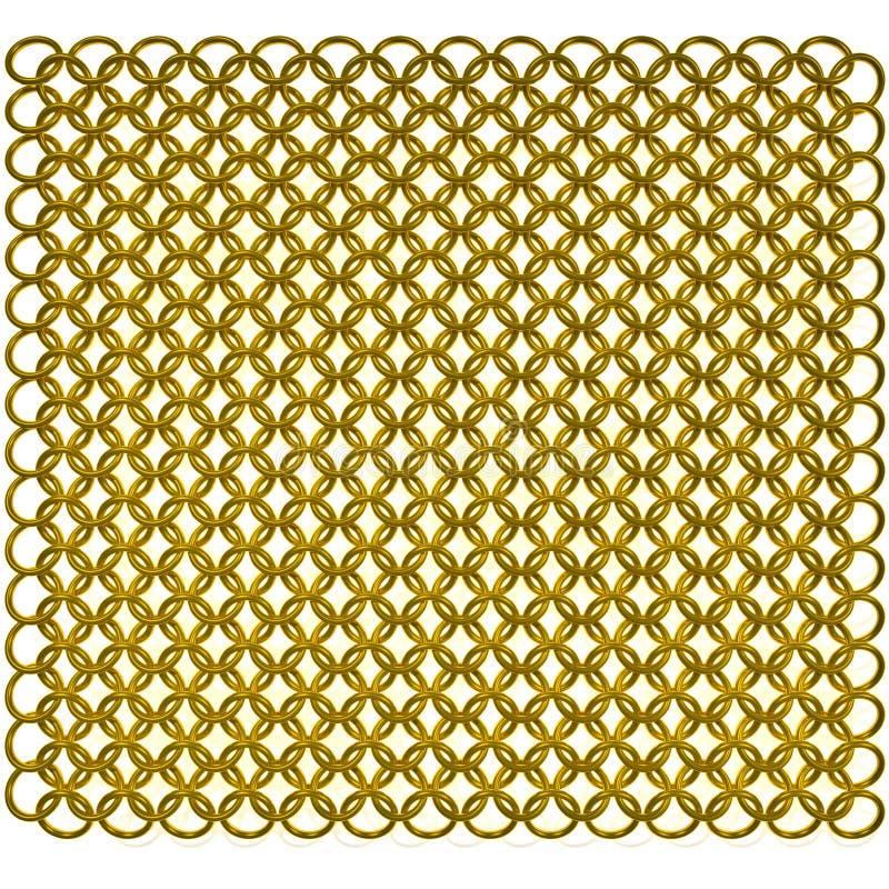 Correo del oro stock de ilustración