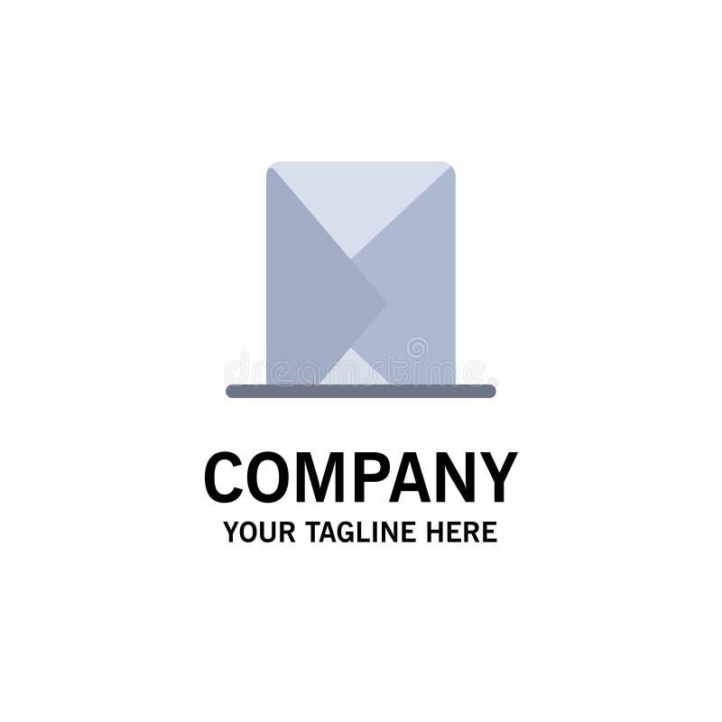 Correo electrónico, sobre, correo, mensaje, enviado negocio Logo Template color plano libre illustration