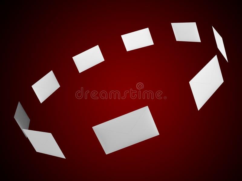 Correos stock de ilustración