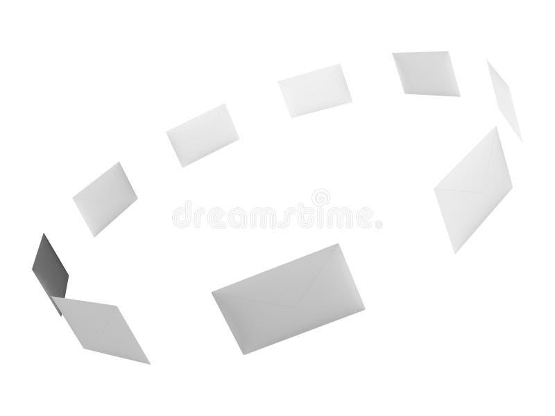 Correos ilustración del vector