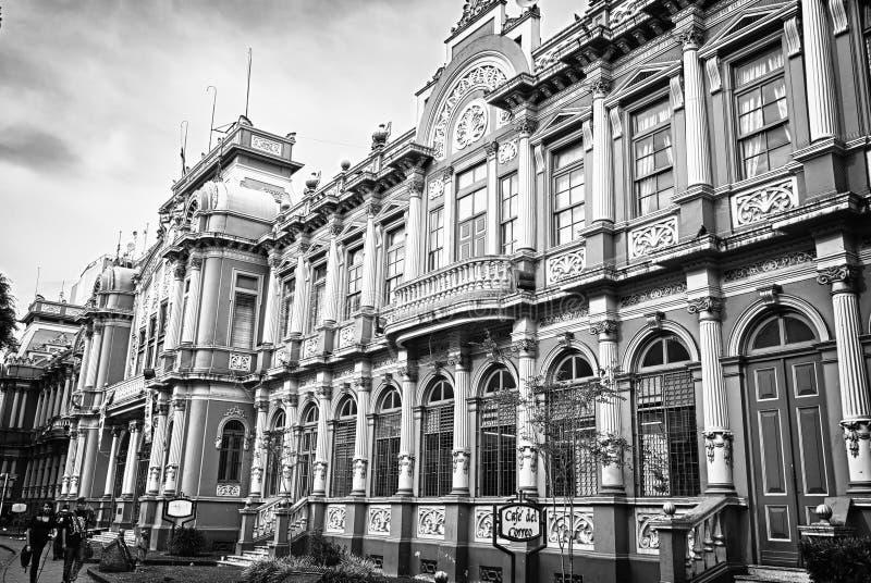 Correros de哥斯达黎加在街市圣何塞 JPG 库存图片