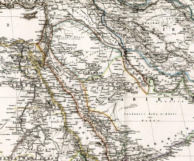 Correspondencia antigua de Oriente Medio Arabia Iraq