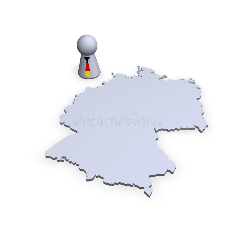 Correspondencia de Alemania libre illustration