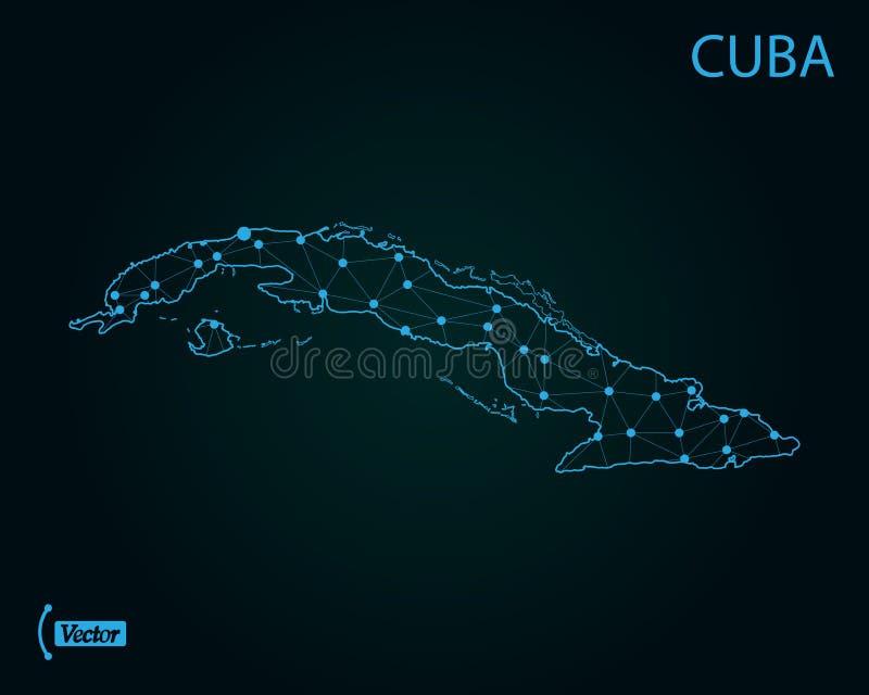 Correspondencia de Cuba Ilustración del vector Correspondencia de mundo libre illustration
