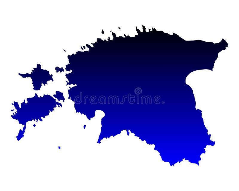 Correspondencia de Estonia libre illustration