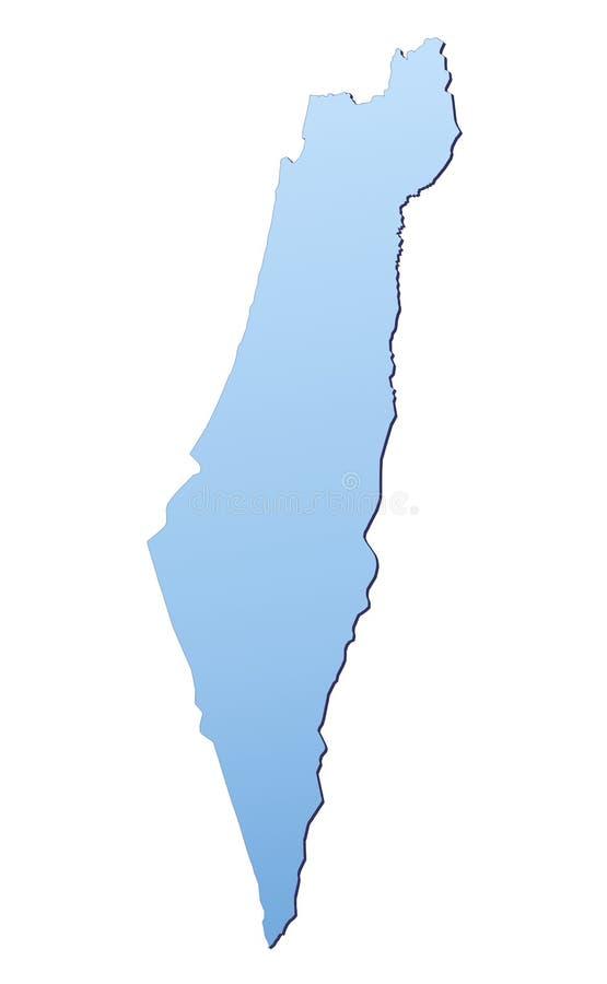 Correspondencia de Israel ilustración del vector