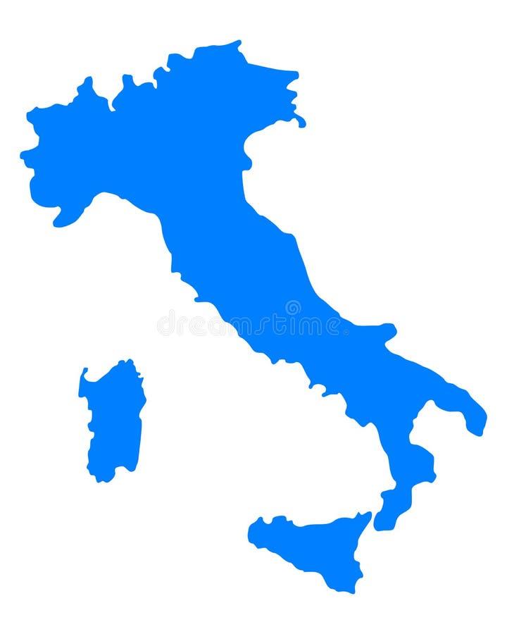 Correspondencia de Italia ilustración del vector