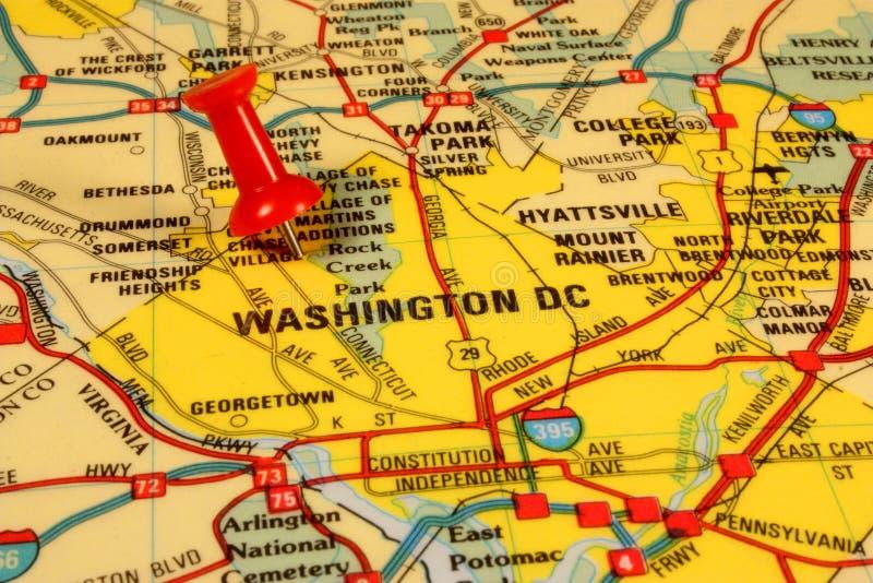 Correspondencia de la C.C. de Washington foto de archivo