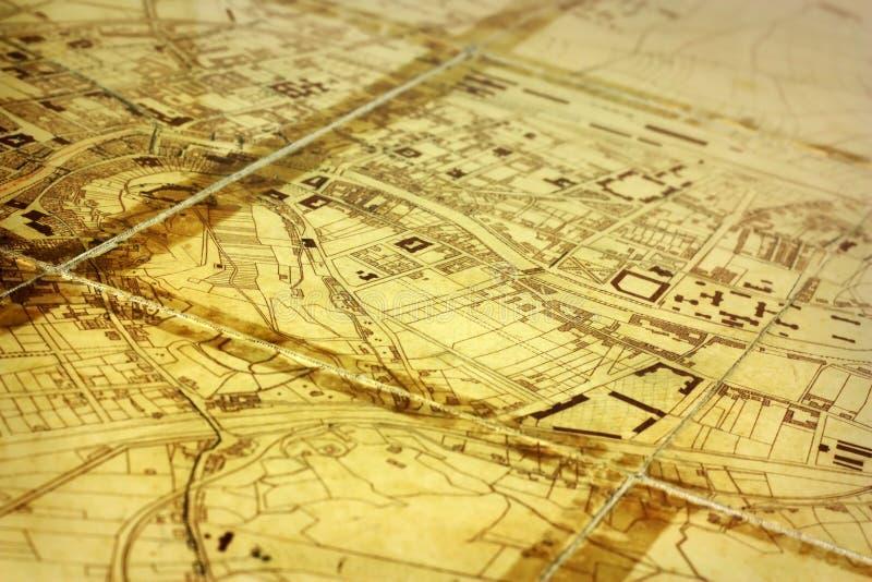 Correspondencia de la ciudad fotografía de archivo libre de regalías