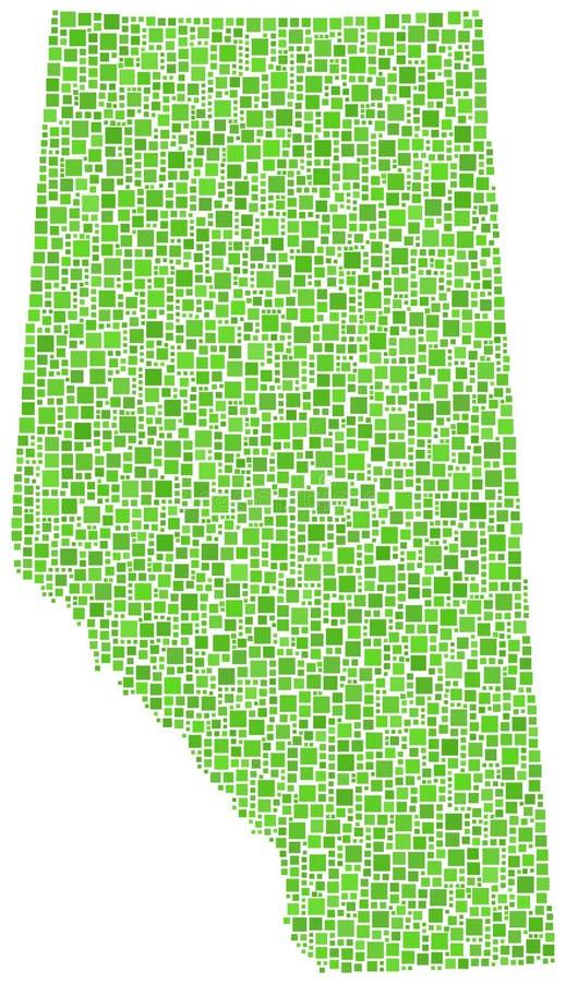 Correspondencia de la provincia de Alberta libre illustration