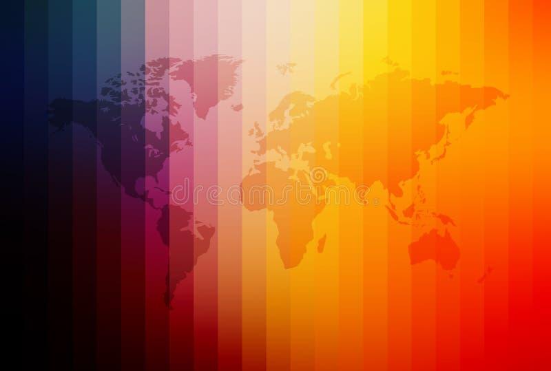 Download Correspondencia de mundo stock de ilustración. Ilustración de concepto - 178423