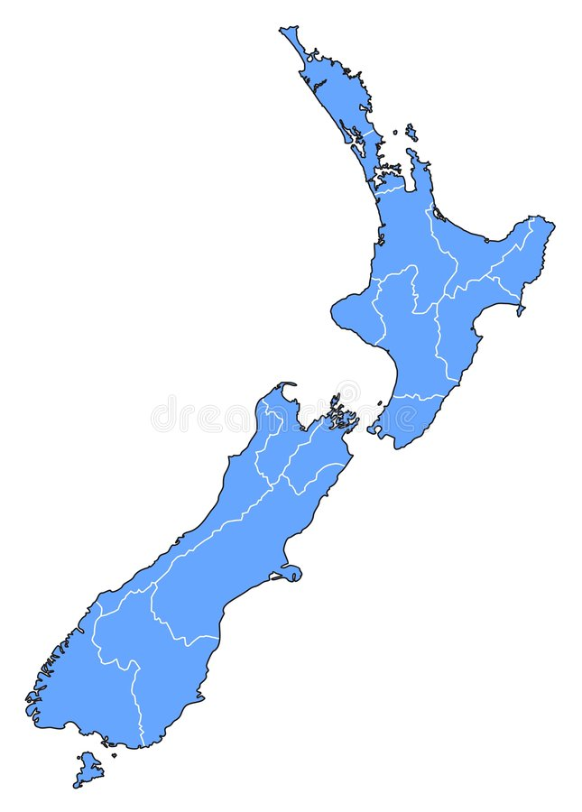 Correspondencia de Nueva Zelandia libre illustration