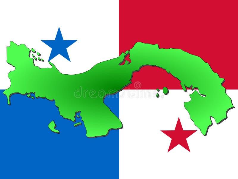 Correspondencia de Panamá stock de ilustración