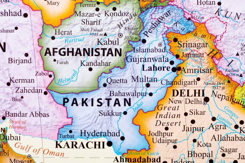 Correspondencia de Paquistán stock de ilustración