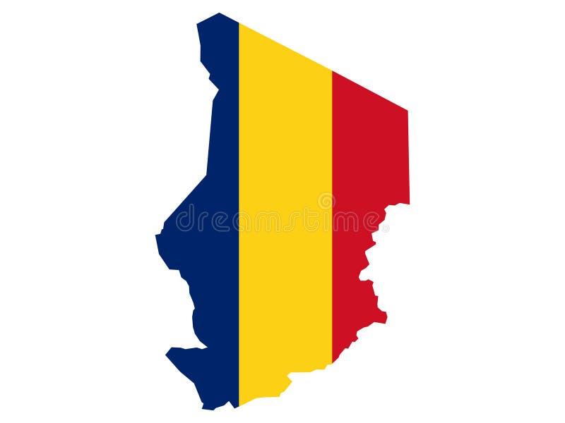 Correspondencia de República eo Tchad libre illustration