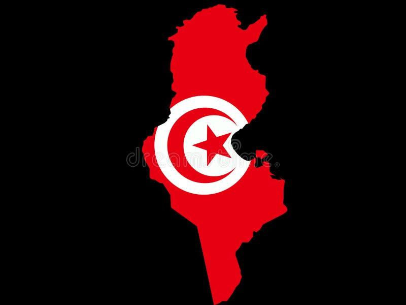 Correspondencia de Túnez ilustración del vector