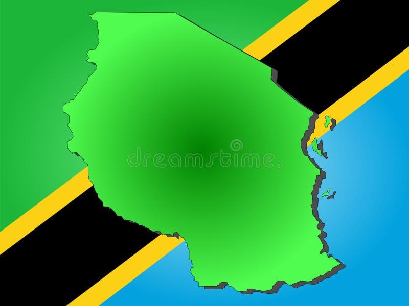 Correspondencia de Tanzania libre illustration