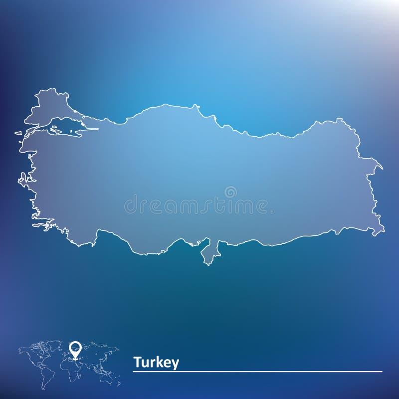 Correspondencia de Turquía libre illustration