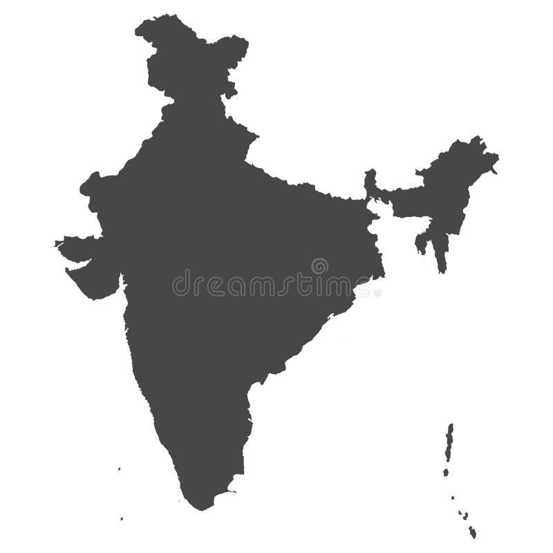 Correspondencia detallada de la India libre illustration