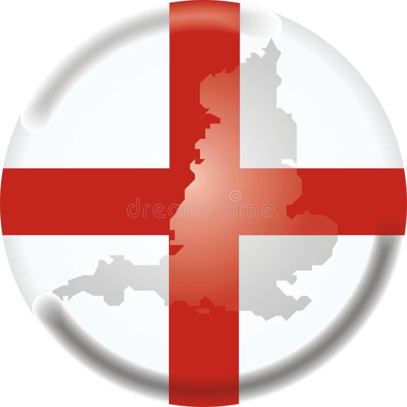 Correspondencia e indicador de Inglaterra libre illustration