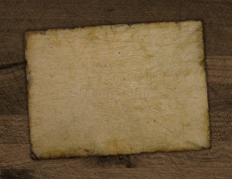 Correspondencia hecha andrajos vieja imagen de archivo libre de regalías