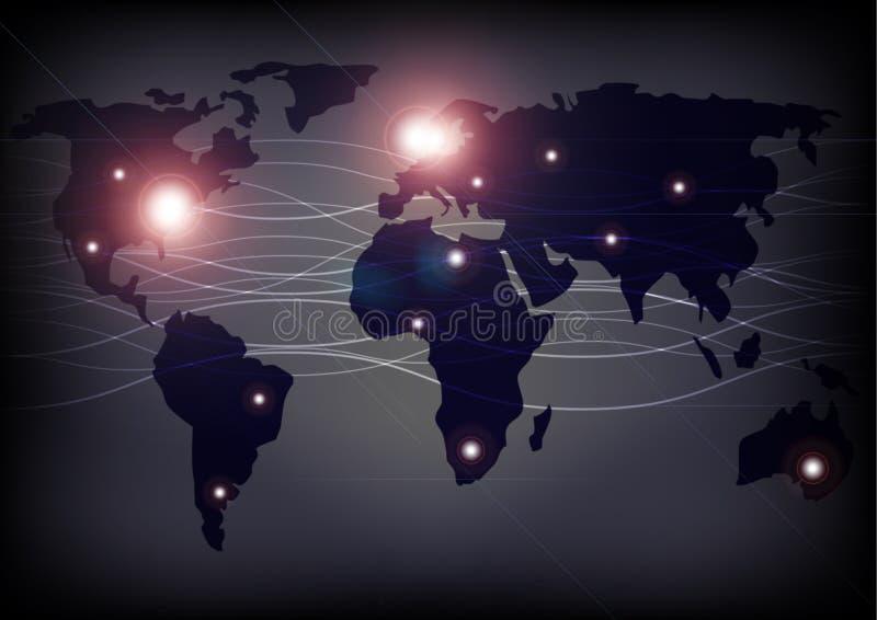 Correspondencia y fibras ópticas de mundo libre illustration