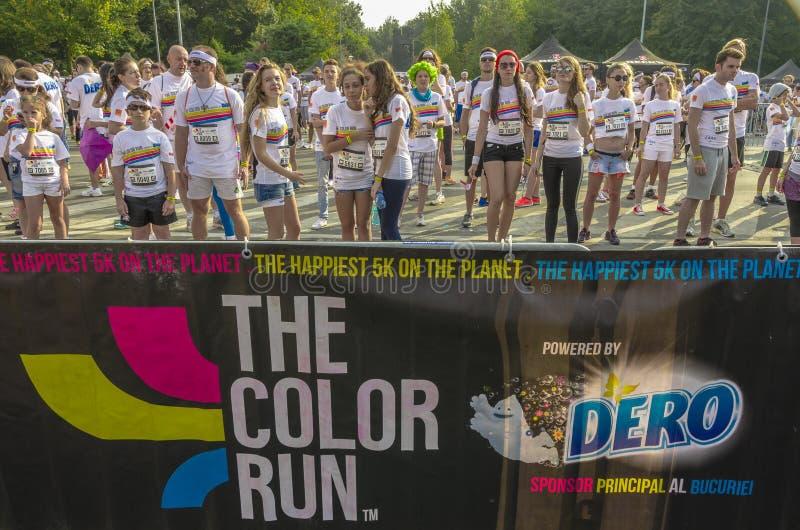 A corrida Bucareste da cor fotos de stock royalty free
