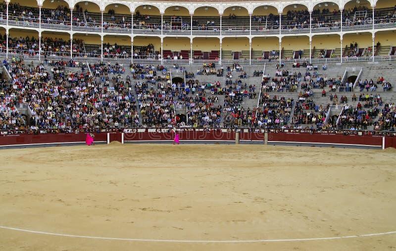 Corrida-Las exhale Madrid image stock