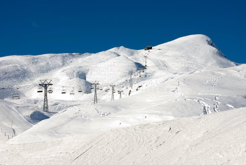 Corridas de esquí fotos de archivo