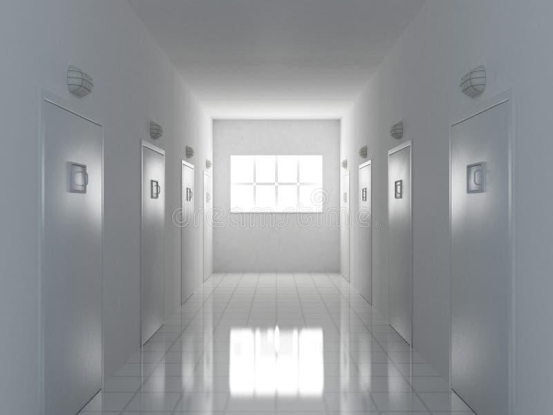 Corridoio illustrazione vettoriale