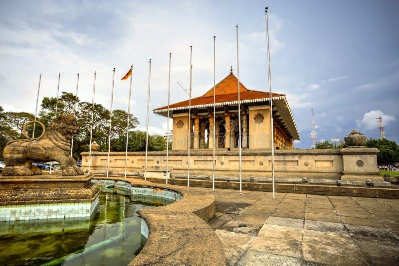 Corridoio commemorativo di indipendenza, Colombo, Sri Lanka fotografia stock