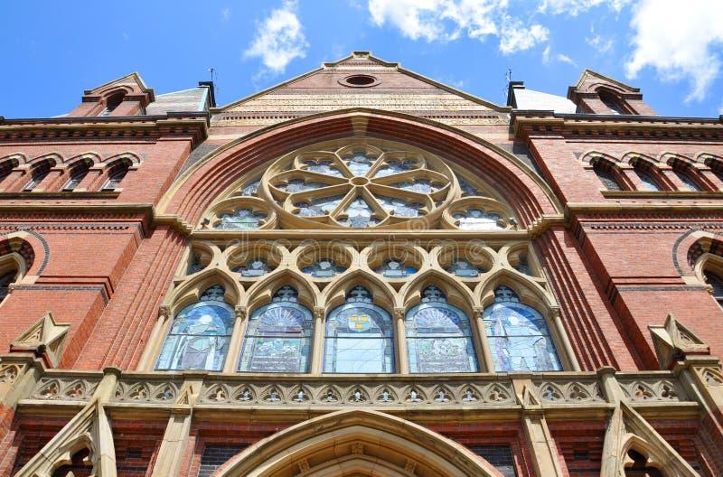 Corridoio commemorativo, Università di Harvard, Cambridge, mA fotografie stock libere da diritti