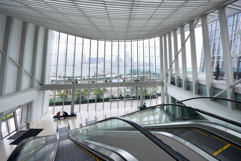 corridoio del centro di affari immagini stock libere da diritti