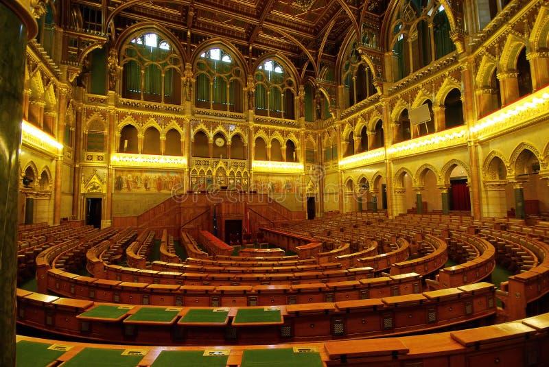 Corridoio del Parlamento fotografia stock libera da diritti