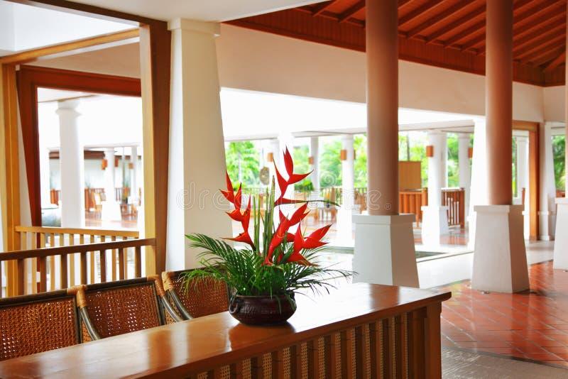 Corridoio dell'hotel immagine stock