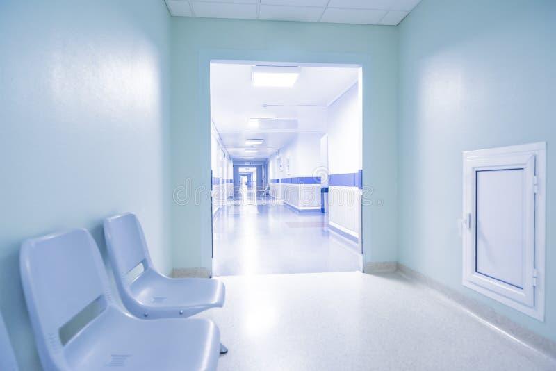 Corridoio dell'ospedale immagine stock libera da diritti