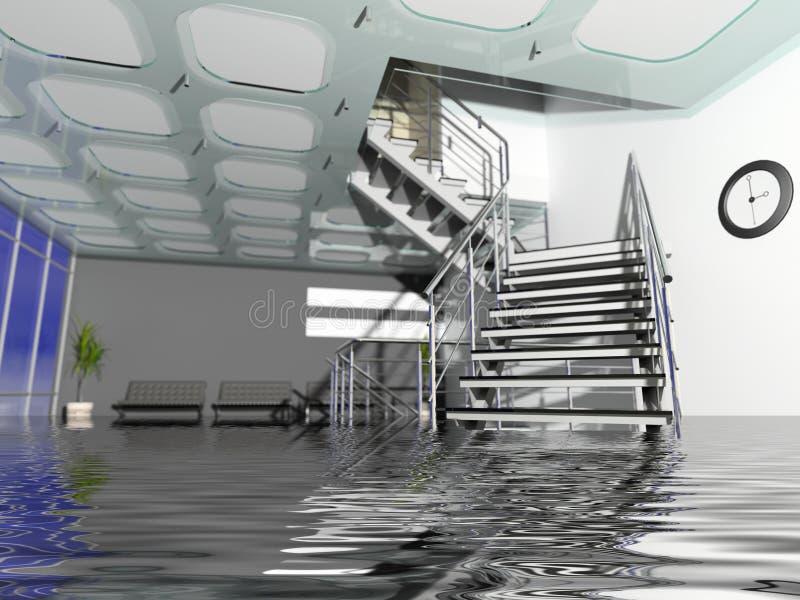 corridoio dell'ufficio nel caso di assicurazione