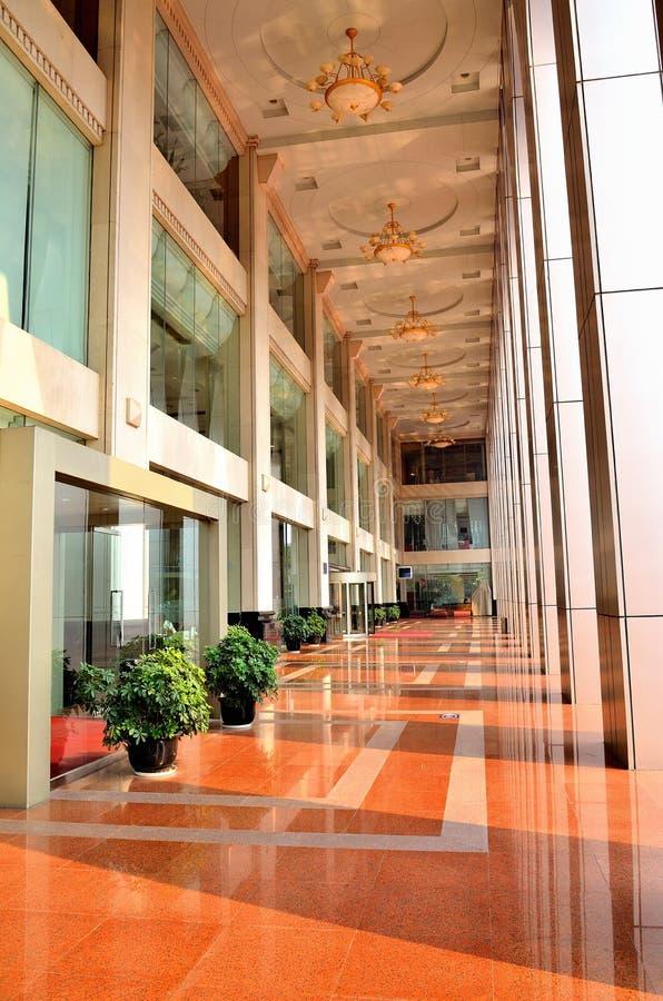 Corridoio della Banca fotografie stock libere da diritti