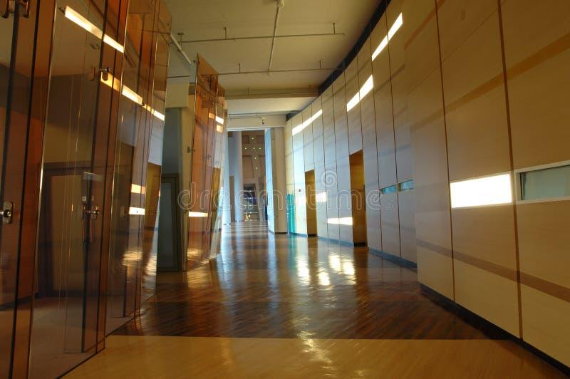 Corridoio della costruzione di affari immagini stock libere da diritti